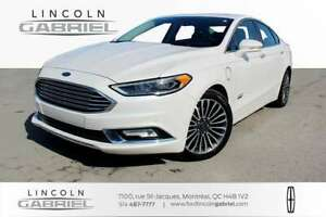 2017 Ford Fusion Energi Titanium ONE OWNER, NEVER ACCIDENTED, VE