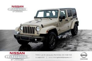 2016 Jeep Wrangler 75th Edition NAVI SEULEMENT 48 600KM!!,75th S