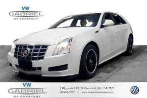 2012 Cadillac CTS LUXURY CUIR, TOIT OUVRANT PANO, SEUL WAGON A V
