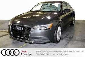 2014 Audi A6 TECHNIK ONLY 26795 KM / KEYLESS/ NAVIGATION /