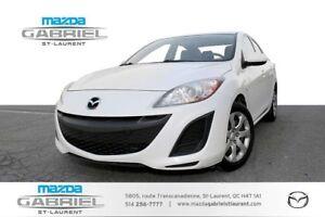 2010 Mazda Mazda3 GX + A/C +  GRP ELECTRIQUE + DEMARREUR A DISTA