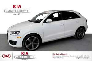 2015 Audi Q3 2.0T Tech Q3 AWD,Navigation,Panoramic Roof,