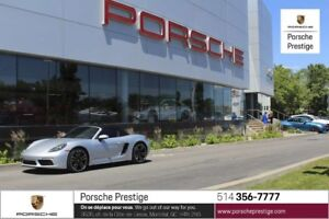 2017 Porsche Boxster S Pre-owned vehicle 2017 Porsche 718 Boxste
