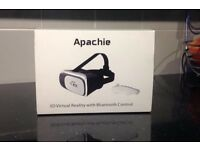 3D virtual reality with Bluetooth control brand new