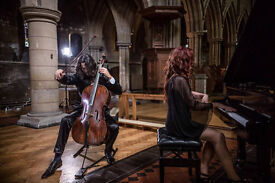 Professional Cellist & Singer available for weddings.