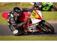 Kawasaki ER6 racebike