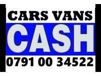 ☎️ Ø791ØØ 34522 SELL YOUR CAR VAN 4x4 SCRAP WANTED FOR CASH 1FB