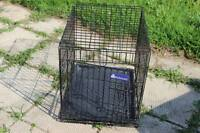 SMALL SIZED CAGE AND MEDIUM DOG HOUSE