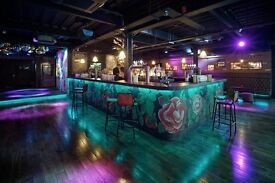 Black Rabbit Shot Co. are looking for bartenders and floor staff with immediate start!