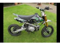 125cc pitbike m2r SOLD SOLD SOLD
