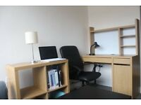 Brand new IKEA Desk and a Shelf