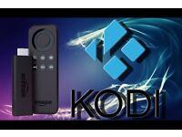 Fully Loaded Amazon Firestick with Kodi 16.1, SPMC & Mobdro
