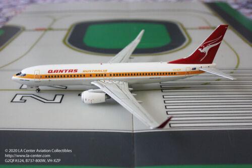Gemini Jets Qantas Airways Boeing 737-800W in Retro Color Diecast Model 1:200