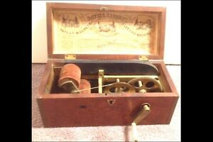 Antique Medical Quack Davis & Kidder Electric Shock Box, NY, Magneto 1854