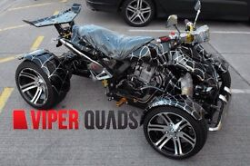 Viper 250 F1 , 350 F1 SuperSnake, Road Legal Quad Bikes, Brand New 2016, Spyracing 250/350 F1