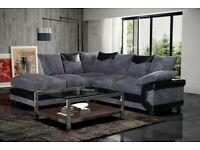 🌻Sale Offer on🌻Stylish Design 🌻 DINO FABRIC CORNER SOFA 🌻Available In Stock...🌻
