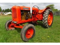 NUFFIELD UNIVERSAL 6 Cyl 1960 ROAD REG 5.7Lt VINTAGE TRACTOR READY TO SHOW CAN DELIVER SEE VIDEO