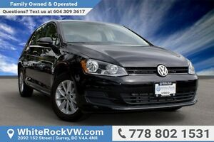 2016 Volkswagen Golf 1.8 TSI Trendline FUEL EFFICIENT, HEATED...