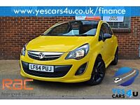 """"" FINANCE AVAILABLE """" 2014 (64) Vauxhall Corsa Limited edition, 1.2 Petrol,"