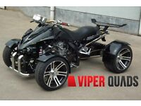 Viper 350 F1 SuperSnake,Black, Road Legal Quad Bikes, Brand New 2016, Spyracing 250/350 F1