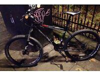 "Revolution cadence sport mountain bike, pristine condition, 18"" size, 24 speeds, disc brakes"