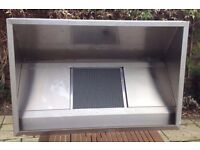 'Like New' Unused Commercial Stainless Steel Canopy