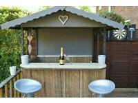 Garden bar/outdoor bar/ tiki bar