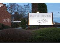 Waiting Staff - The Farmhouse at Mackworth
