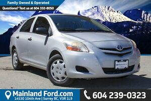 2007 Toyota Yaris Base ONE OWNER, LOW KM'S