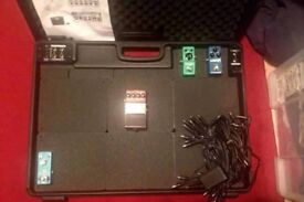Behringer PB1000 pedalboard , train fly guitar pedal case , bag