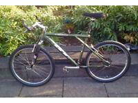 GT mountain bike, 27 Speeds, Includes sadle Lights, all works fine, city centre