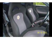 Subaru Impreza FIA 1995 world rally seats