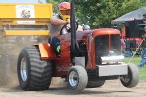 4 cylinder mini rod pulling tractor