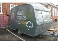 Retro Caravan For Sale - Thomson Glen 1971 - Ideal for kids den/ garden office!