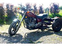 Yamaha virago 750 trike,