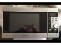 Kenwood microwave oven + grill