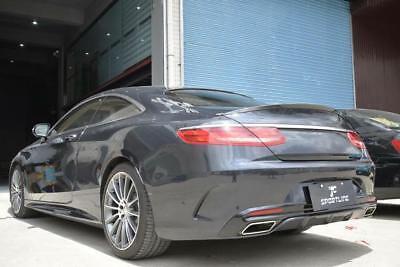 Heckspoiler für Mercedes S Klasse Coupe C217 Spoiler Heck AMG S63 S65 Lippe Cabr