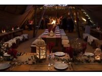 Experienced Kitchen Manager for corporate Tipi Christmas Parties
