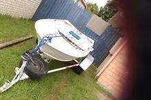 Tinny and trailer Caboolture Caboolture Area Preview
