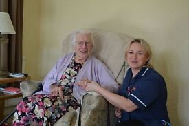 Live-in carers required starting from £550 + per week