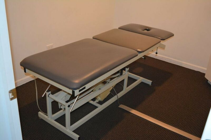 Adapta Hi-Lo Therapy Table for Massage, Treatment, or Evaluation of Injuries.
