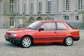 PEUGEOT 309 GTI - WANTED CASH WAITING