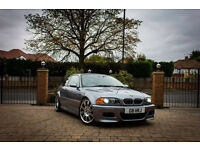 BMW E46 M3 SilverGrey, 6 speed manual, Coupe