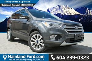 2017 Ford Escape Titanium LOCAL, NO ACCIDENTS