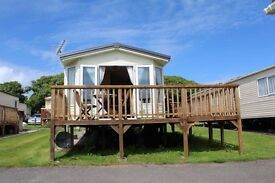 Static caravan for sale at Lydstep Beach Tenby Bargain £29,995