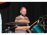 Drum lessons in Bristol - friendly, experienced teacher - all levels - first lesson free