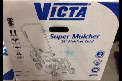"""Victa super mulcher 18"""" mulch or catch lawn mower Brand New Clayton Monash Area Preview"""