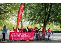 Volunteer photographers needed for Team Shelter at the London Marathon 2017