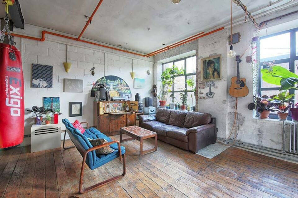 Room To Let Rent In Massive Warehouse Loft Apartment Hackney 665 No Agency Fees