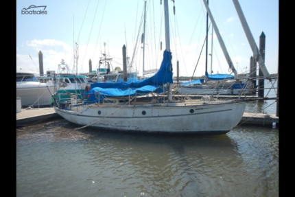 1938 Maurice Griffith 30' Classic Timber Yacht